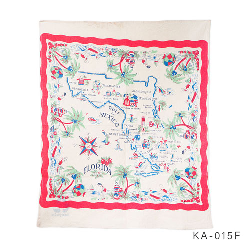 OLD MAP CLOTH